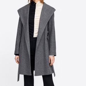 Zara hooded Coat